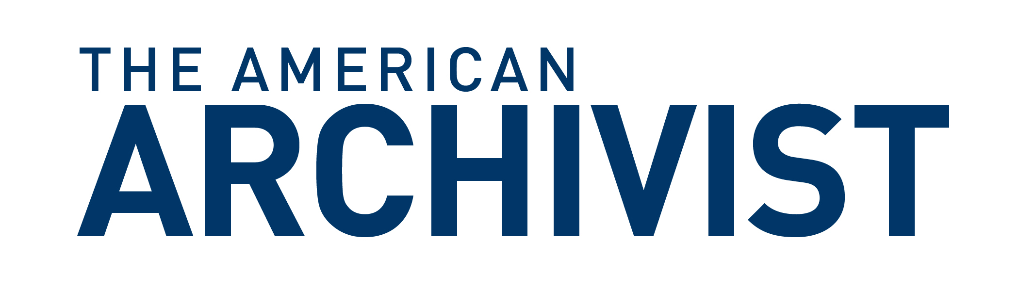 The American Archivist Logo